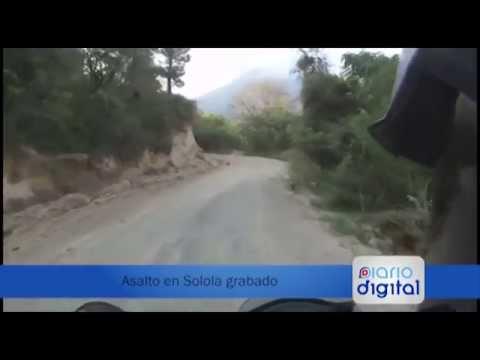 Asalto en Sololá grabado