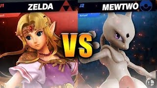Mewtwo vs Zelda