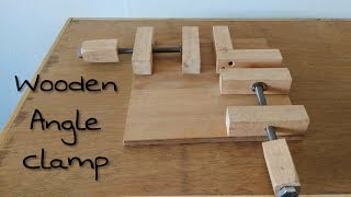 How To Make Right Angle Clamp || DIY Corner Clamp