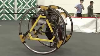 Crazy Electric Di-Wheel Bike Allows Riders To Do WILD Maneuvers