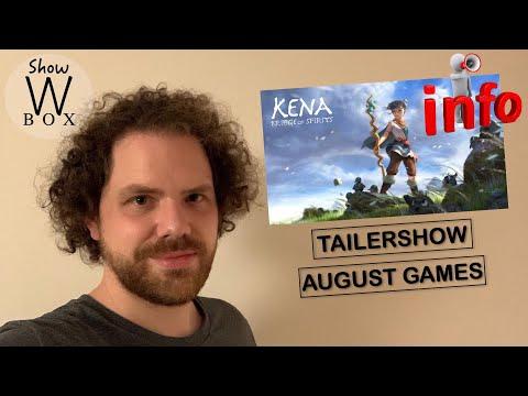 Infovideo   Spiele Vorschau August   Kanalupdate + Trailershow