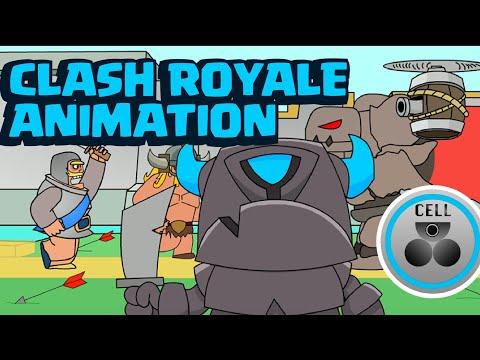 Clash Royale Animation Compilation