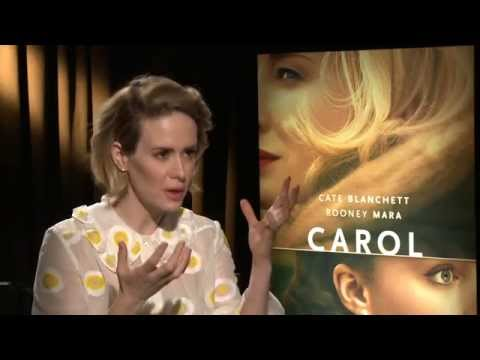 "Carol: Sarah Paulson ""Abby"""" Official Movie Interview"