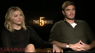 The 5th Wave - Interview with Chloë Grace Moretz and Cast