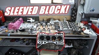 We Have a NEW BLOCK For The Twin Turbo Mr2 Build!