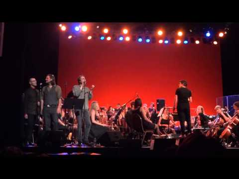 Peter Fedofsky, Mikey & Matty Gervais With Seattle Rock Orchestra, 2013