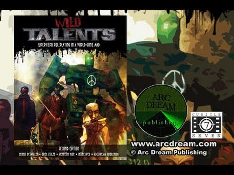 Game Geeks #174 Wild Talents 2nd Progenitor plus By ArcDream Publishing