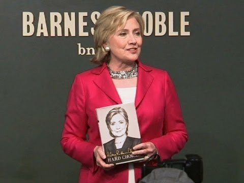 Hillary Rodham Clinton First Book Signing