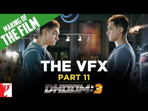 Making Of DHOOM:3 - Part 11 - The VFX Of DHOOM:3
