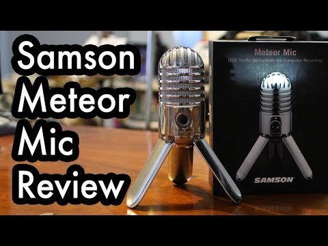 Review: Samson Meteor Mic USB Studio Microphone