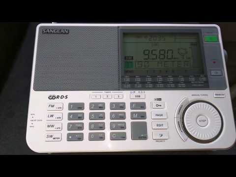China Radio International - 9580 KHZ - 02:30 UTC from Cuba