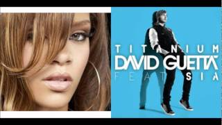 David Guetta ft Sia [Titanium] - Rihanna [We found love] Mashup {elyseum}