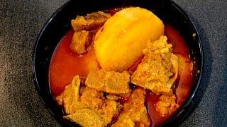 Bengali Mutton Stew (mangser jhol )-Recipe  by Foodie's Hut # 0007