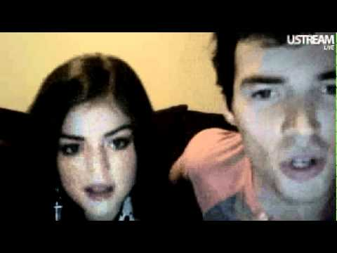 Ian Harding & Lucy Hale call Keegan Allen