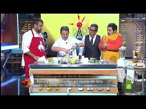 Berto Chicote, David de Jorge y Martín Berasategui preparan sus guarrindongadas - En el aire