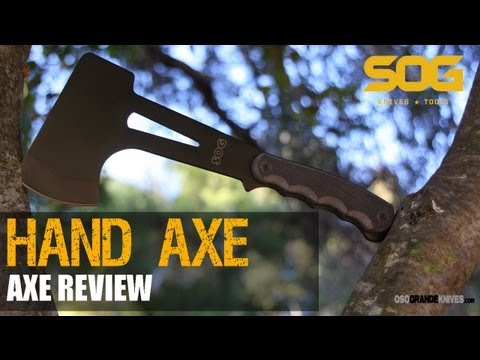SOG Hand Axe F09N Hatchet Review   OsoGrandeKnives