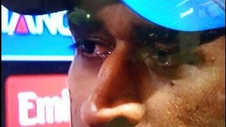 Dhoni Emotional Moment #Respect ICC WORLDCUP 2015 India Vs Australia