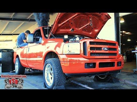 1228Hp & 1952Trq - Cummins Powered 07 Ford @Truck Source Diesel Dyno Day 2014