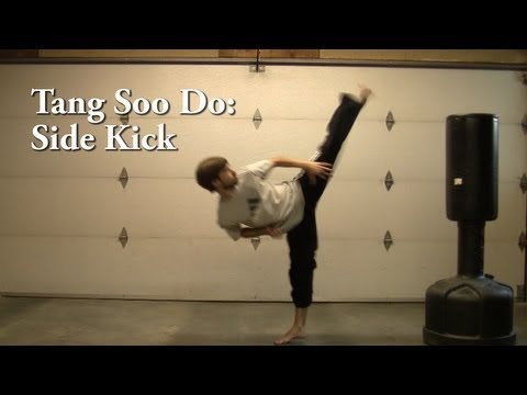 Tang Soo Do: Side Kick Tutorial Image 1