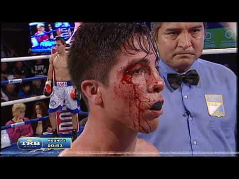 MUKHAMMAD AMIN KULDASHOV vs BRIAN CWALINA - TRB BOXEO 25/08/2017