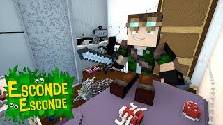 Minecraft: QUARTO DO CELLBIT! (Esconde-Esconde)