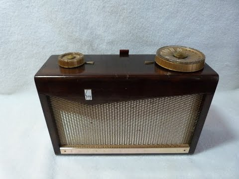 1957 Sony TR-72 Transistor Radio (made in Japan)