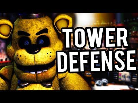 HORDES OF TERRIFYING ANIMATRONICS ATTACK.. | FNAF Tower Defense
