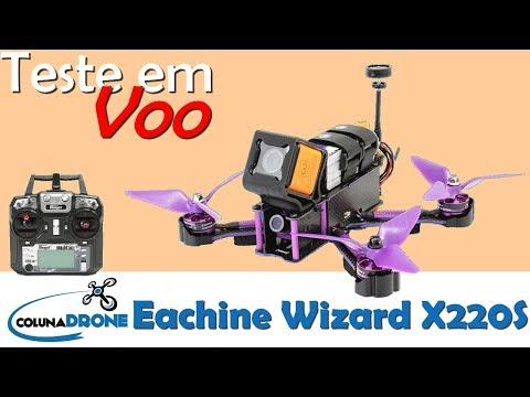 Coluna Voa - Eachine Wizard X220s   colunaDRONE