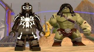 LEGO Marvel Super Heroes 2 - How to Unlock Gwenpool Bonus Mission #8 (Oscorp Escapade)
