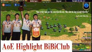 AoE Highlight BiBiClub || Bạn Sẽ Thấy Lạnh Sống Lưng Khi Xem Trận Đấu Này