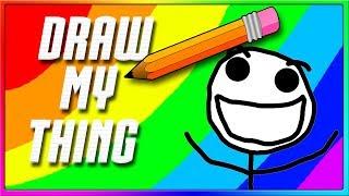 Most Wonderful Smile EVER! | Draw My Thing / Skribbl.io