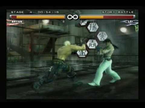 Tekken 5 - Bryan video