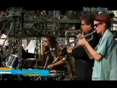 Lollapalooza 2012 brazil Thievery Corporation Full Concertshow completo   YouTube thumbnail