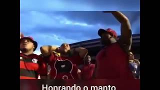 Organizadas do Flamengo ensaiam musica nova em homenagem aos Garotos do Ninho