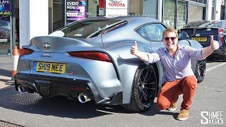 IT'S HERE! Collecting My New Toyota GR Supra