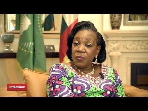 """Centrafrique : """"Je ne protégerai pas des bandits,"""" dit Catherine Samba-Panza"""