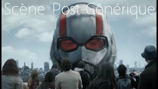 Scènes Post-Générique pour Ant-Man et la Guêpe