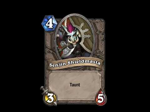 Sen'jin Shieldmasta - Hearthstone Text   Message   Alert Tones (links In Description) video
