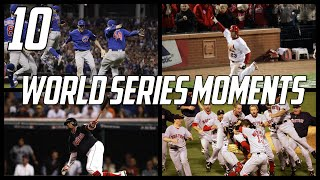 MLB | 10 Greatest World Series Moments of the 21st Century