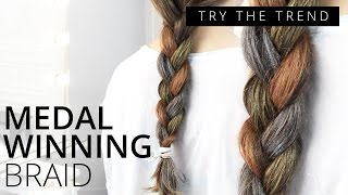 Olympic Hair Braid | TRY THE TREND | Feelunique