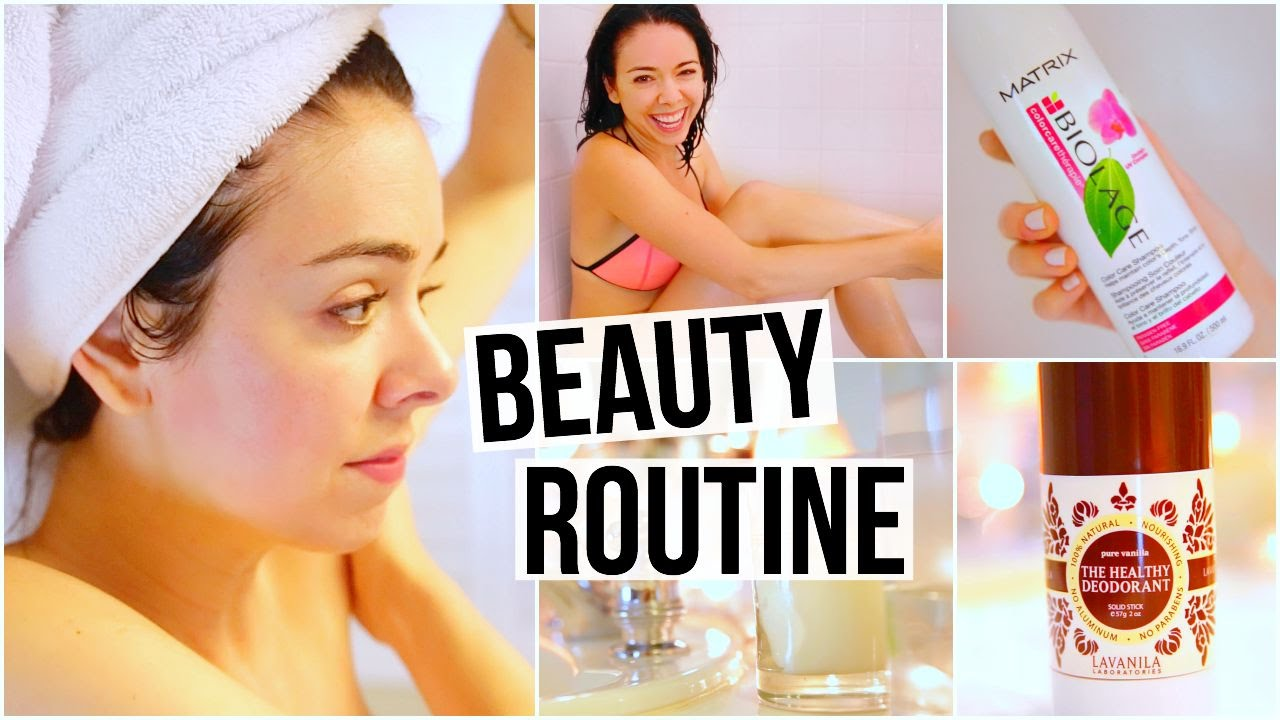 Night Time Beauty Routine! Pampering Night 2015!