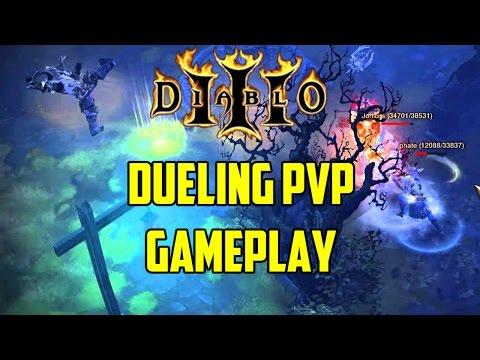 Diablo 3 - Dueling PvP Gameplay
