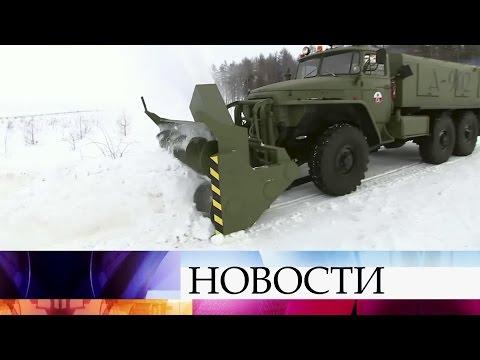 ВГермании любитель военной техники переоборудовал советский военный «Урал» для уборки снега.