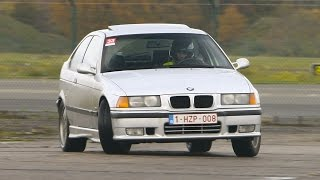 BMW e36 323ti drifting @ Weeze II - Germany