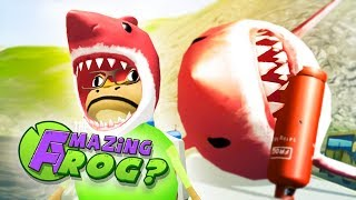 Download Lagu BLOWING UP THE RED MEGALODON & RED SHARK HAT - Amazing Frog Gameplay (New Amazing Frog Update) Gratis STAFABAND
