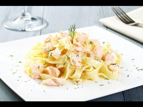 Паста с морепродуктами в сливочном соусе рецепт - Seafood Pasta Recipe