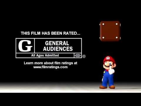 Film Rating Screen - General Audiences (Mario Style!)