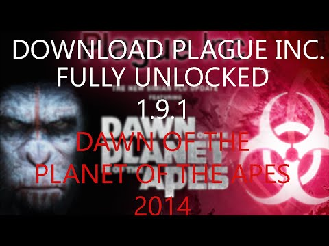 Download Plague Inc Full Unlocked + Mod Dawn Of The Planet Of The Apes Apk [ANDROID]