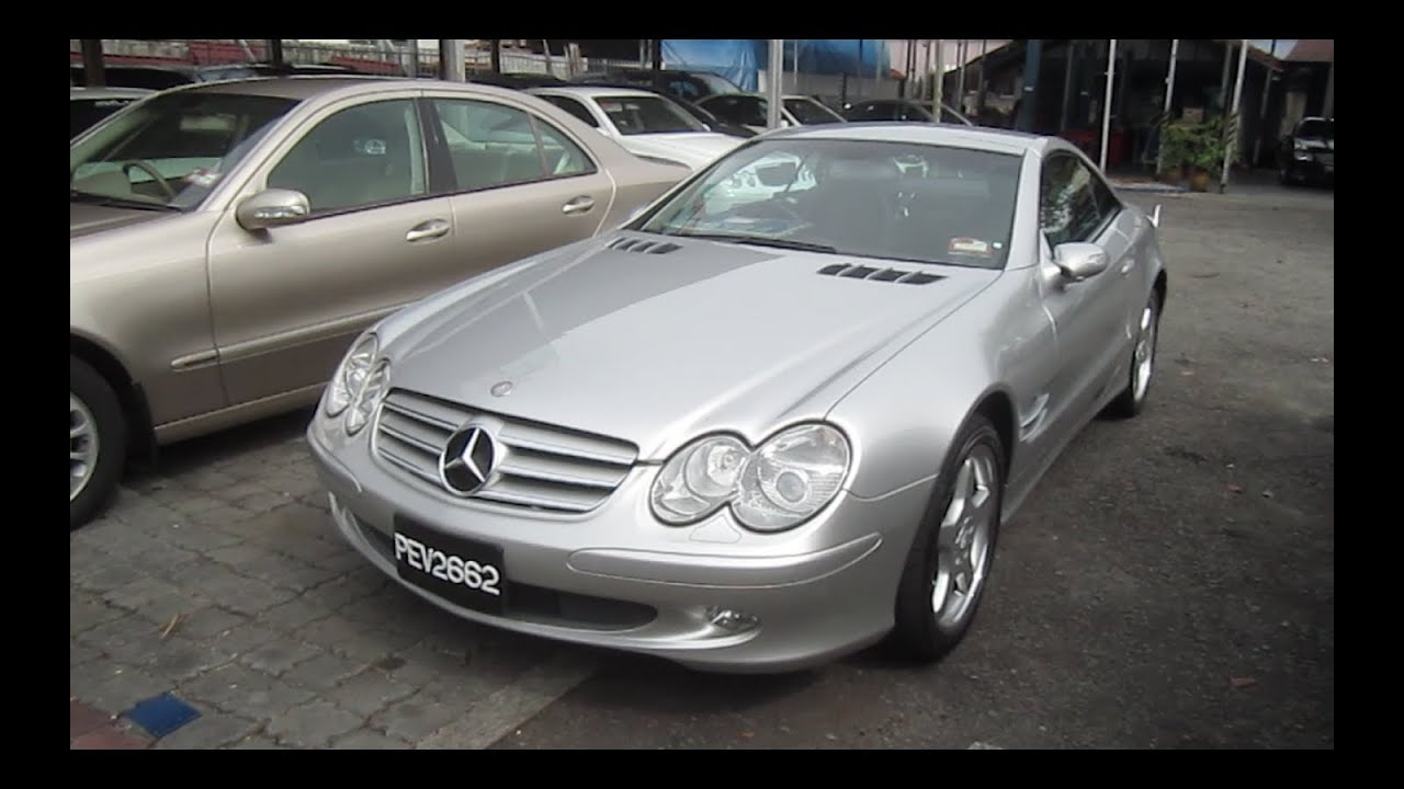 2004 mercedes benz sl350 start up and full vehicle tour for Mercedes benz starter