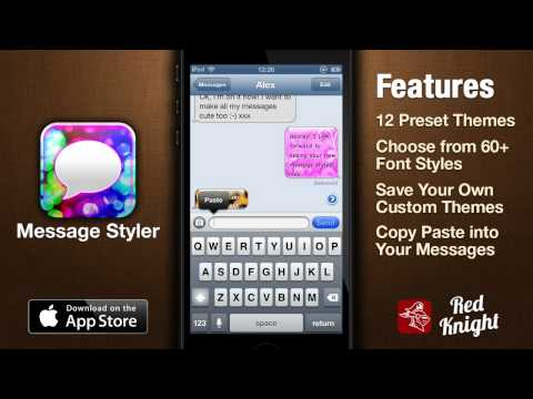 Message Styler App Demo 1.0 - Colorize Your Messages (Text, WhatsApp, Messenger, Facebook Messenger)